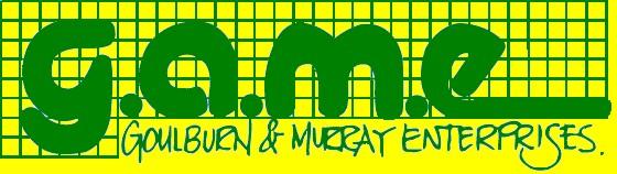 GAME's first logo design